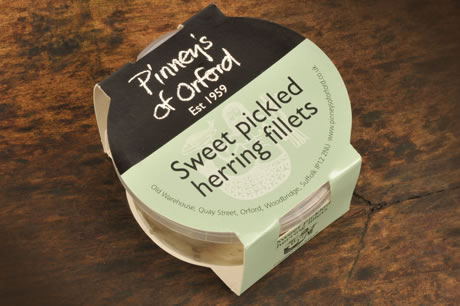 Sweet Pickled Herring Fillets (2 per tub)