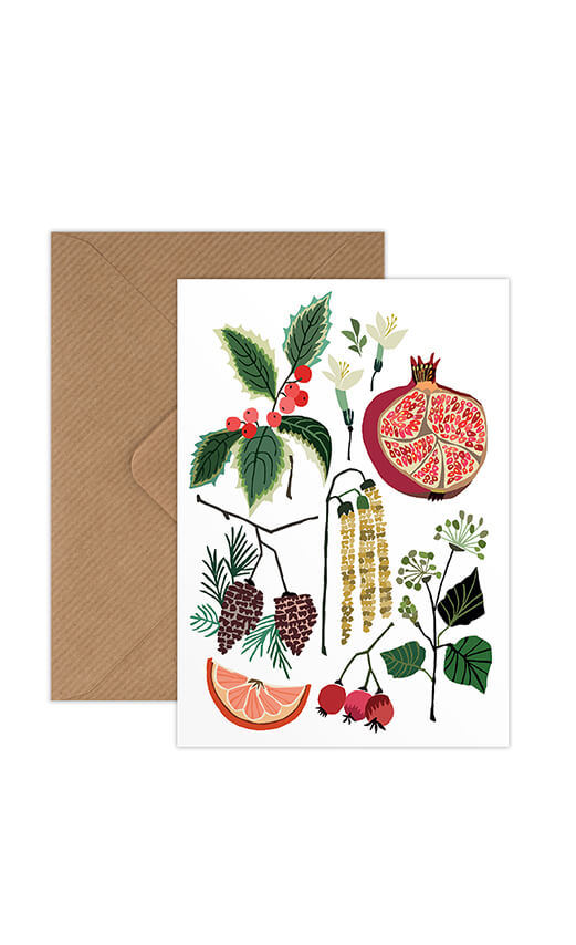 Brie Harrison December Study Greetings Card