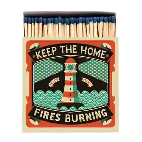 Archivist Home Fires Match box