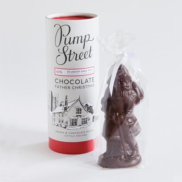 Pump Street Chocolate Father Christmas Figure