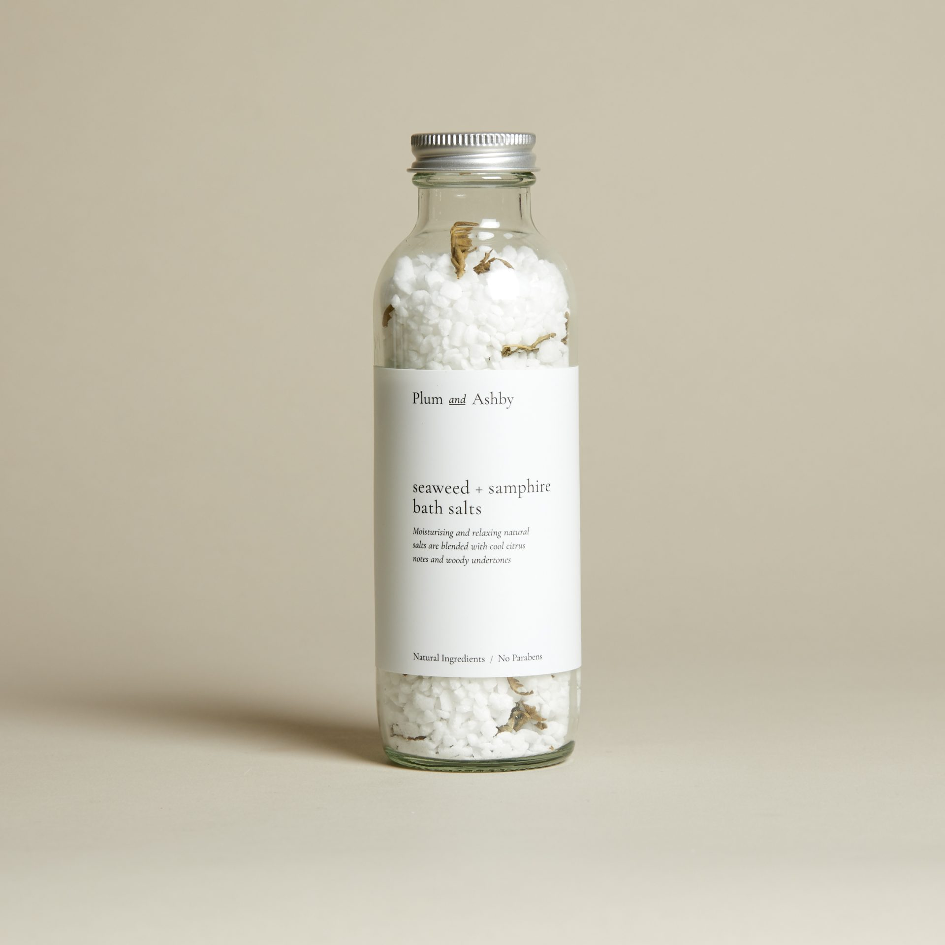 Plum and Ashby Seaweed & Samphire Bath Salts