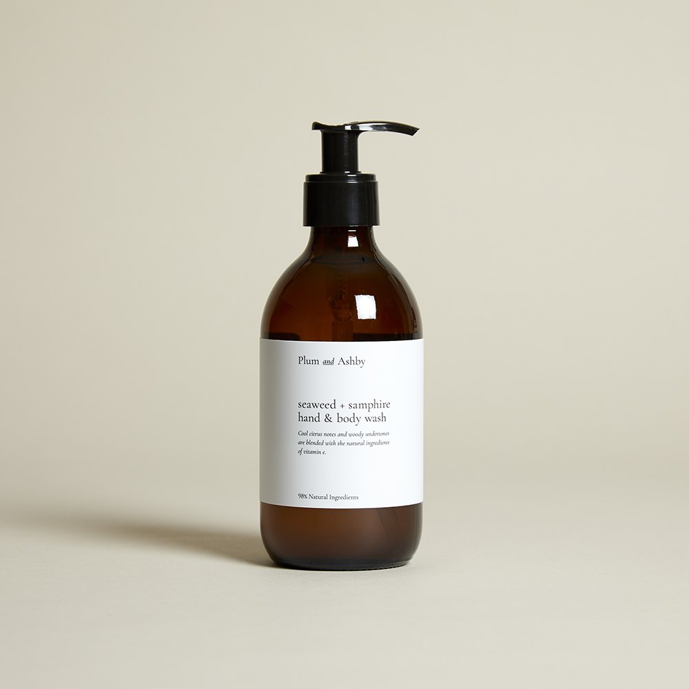 Plum and Ashby Seaweed & Samphire Hand and Body Wash