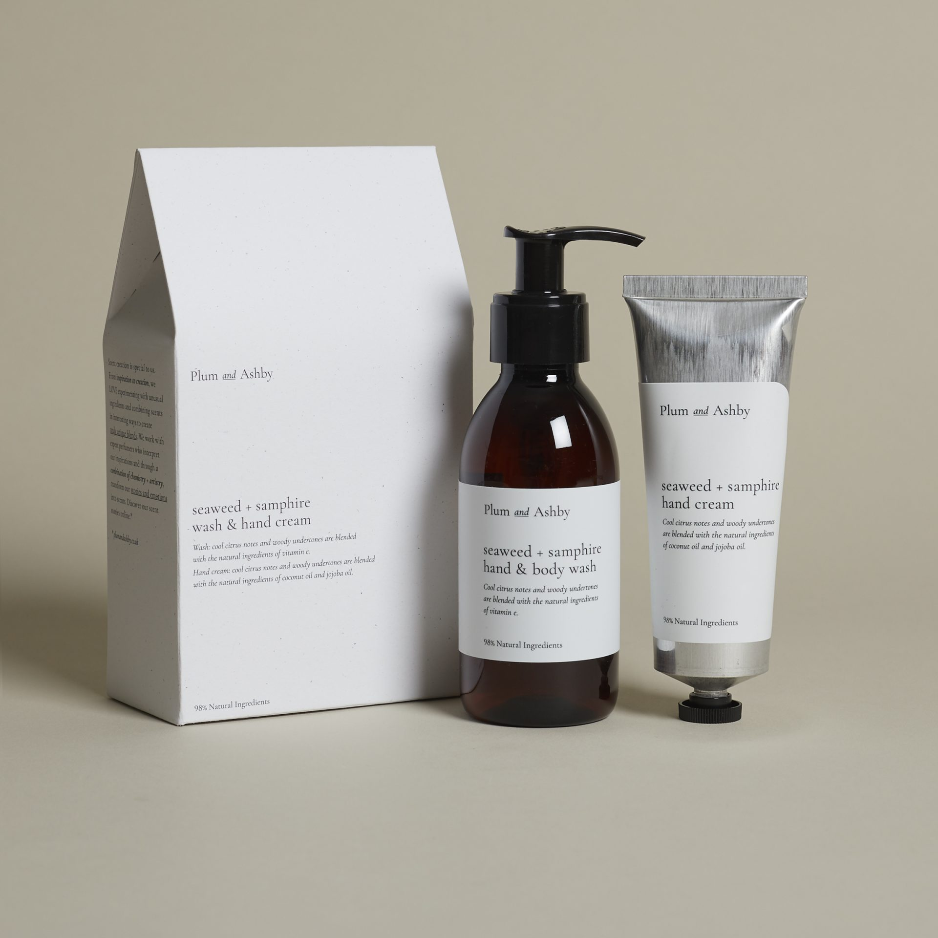 Plum and Ashby Seaweed & Samphire Duo Gift Set