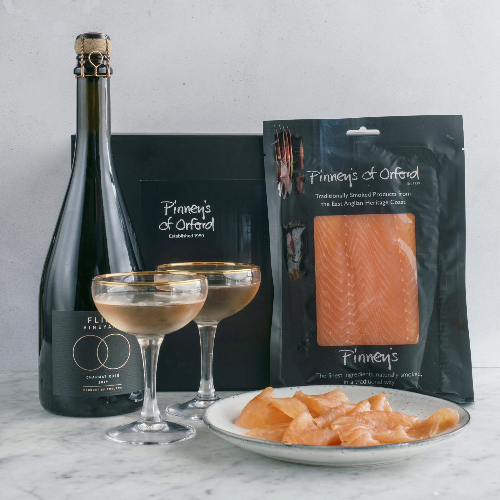 Pinney's Salmon and Fizz