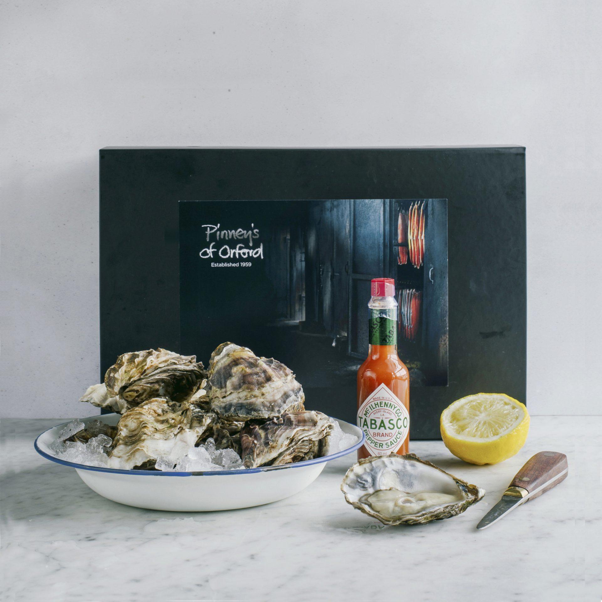 Pinney's Oyster Lover hamper