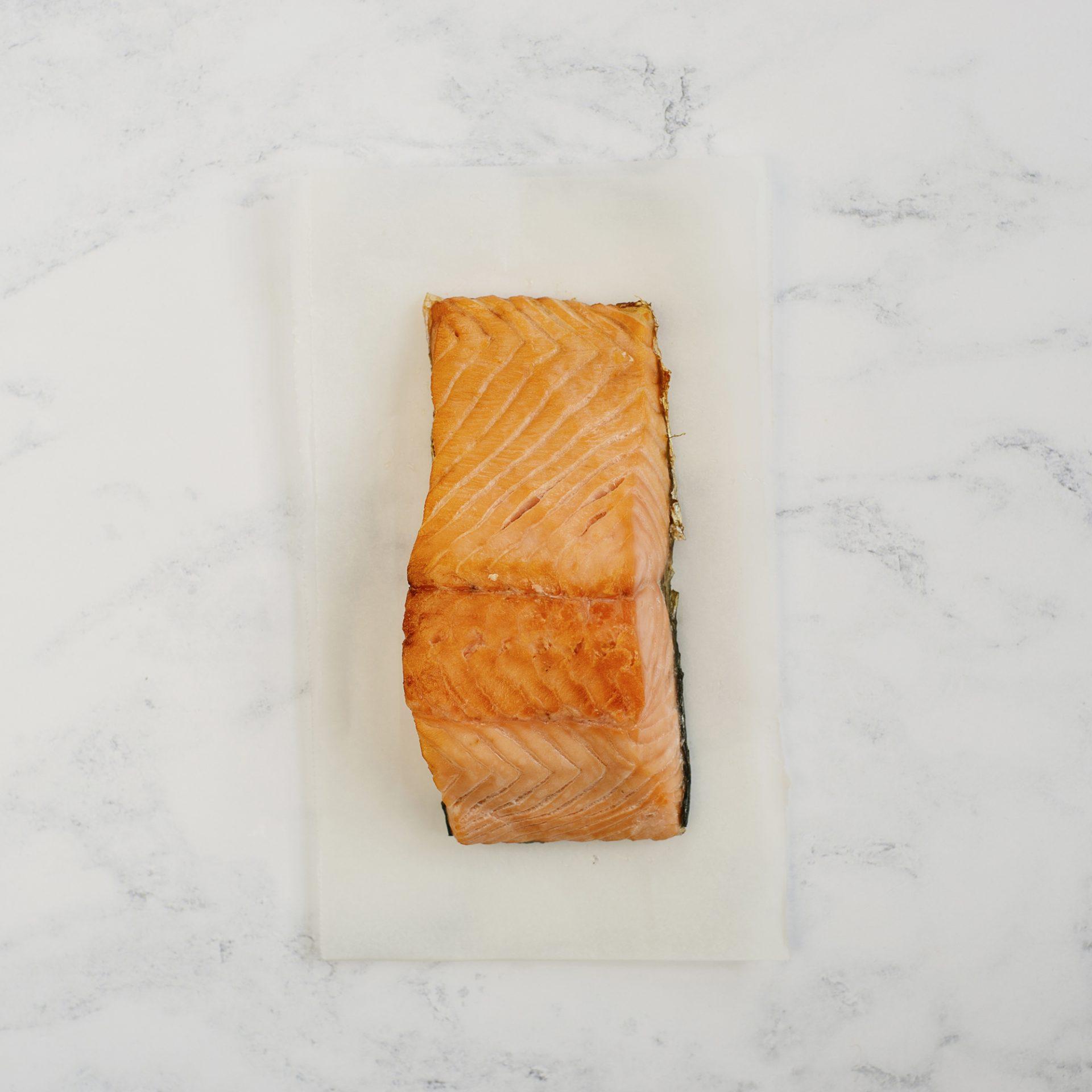 Hot Smoked Salmon Portion