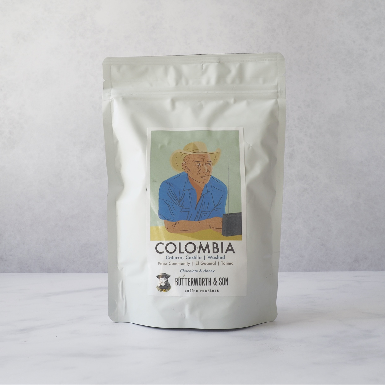 Butterworth & Son Columbia Single Origin Coffee
