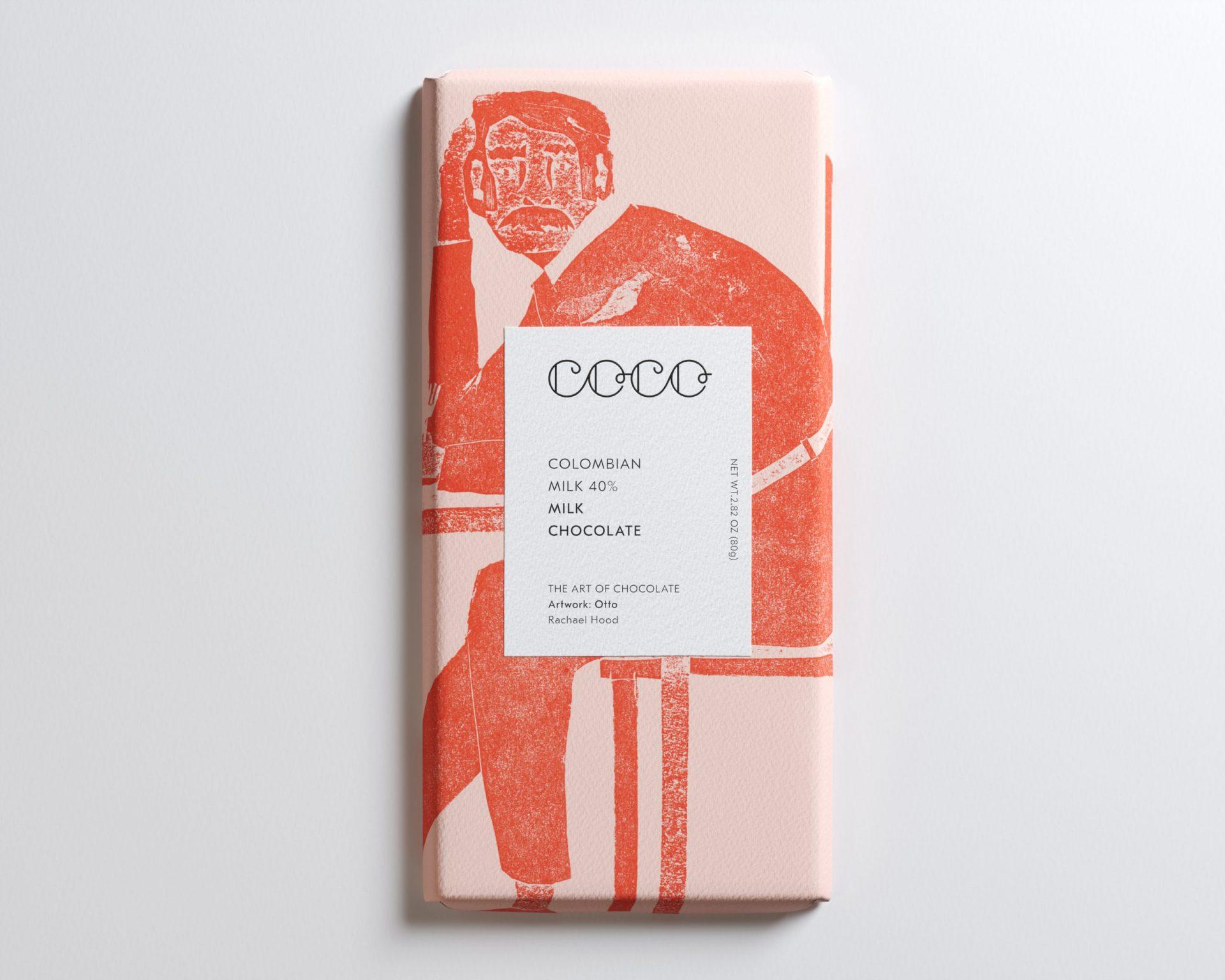 Coco Chocolatier Colombian Milk 40%