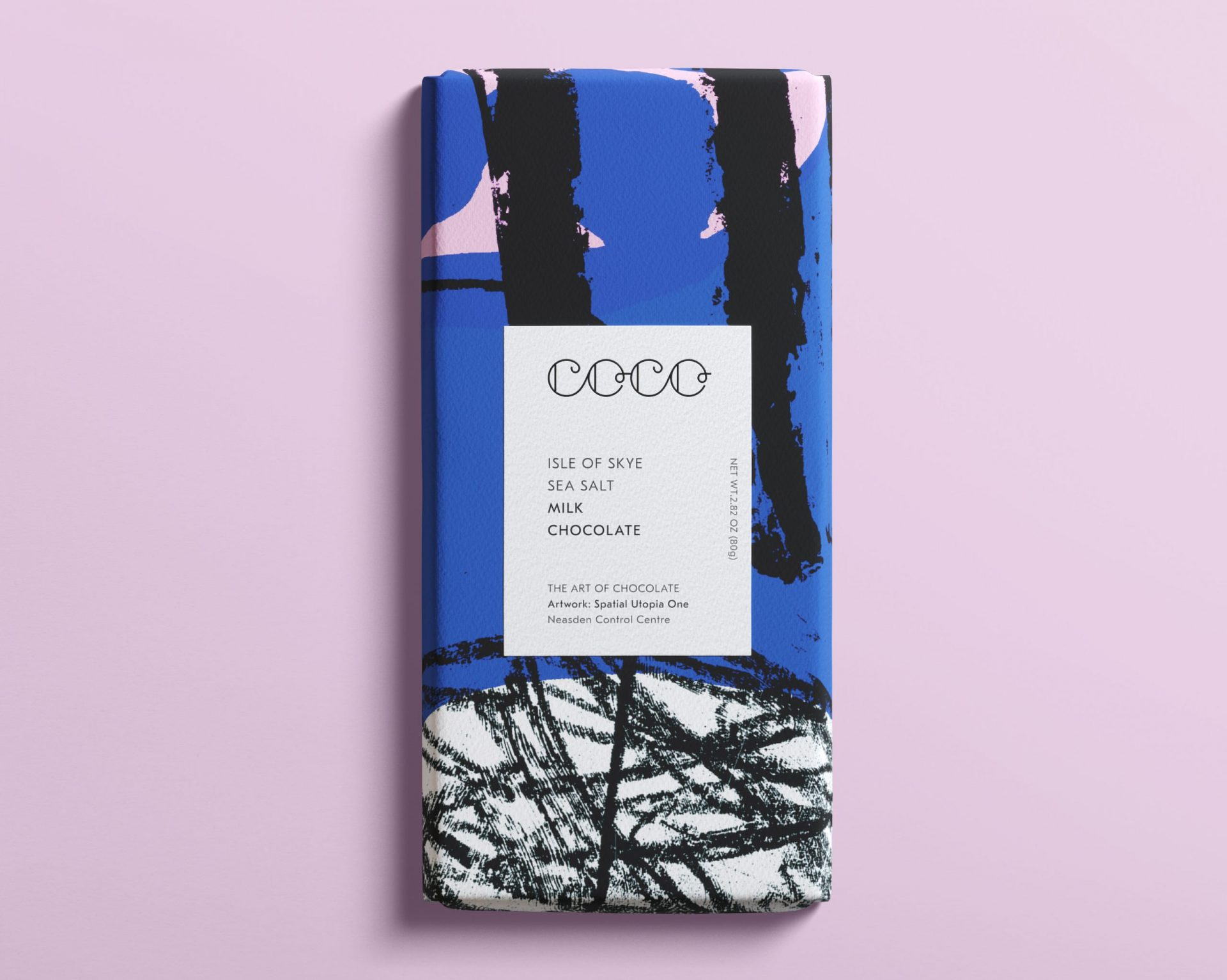 Coco Chocolatier Isle of Skye Sea Salt Milk Chocolate