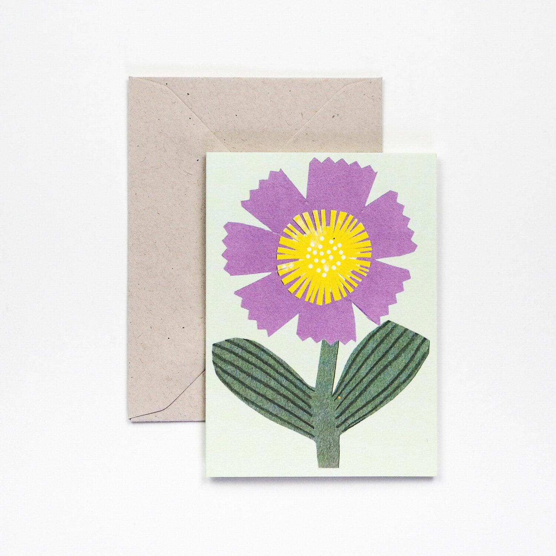 Hadley Design Purple Flower